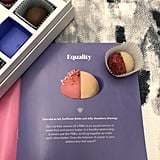 Equality Is Equal Parts Sweet and Savory, Blending Sunflower Butter and Jelly in a Chocolate Shell