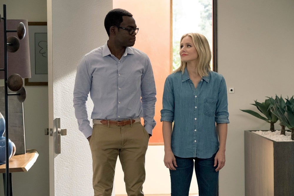 The Good Place Chidi and Eleanor GIFs