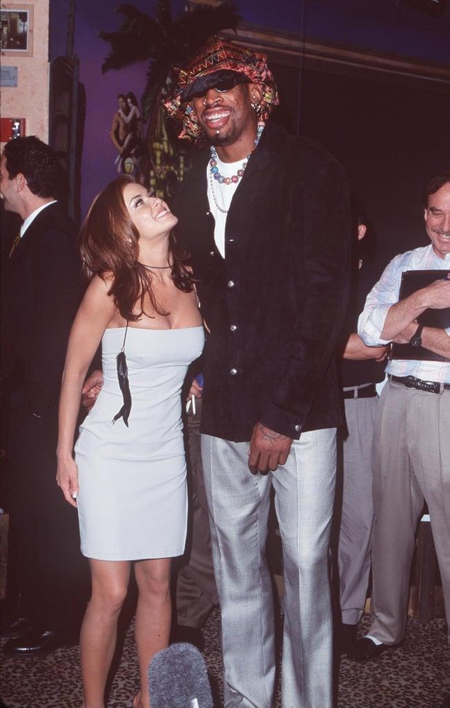Carmen Electra and Dennis Rodman | Celebrities Married in Las Vegas ...