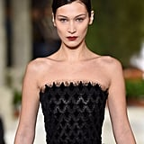 Bella Hadid Walking the Oscar de la Renta Show at NYFW February 2019