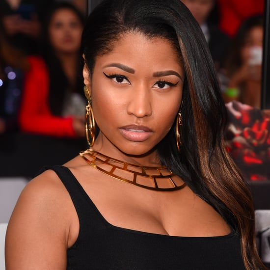 Nicki Minaj Hair and Makeup at MTV Movie Awards 2014