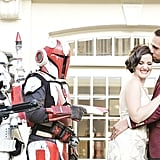 Star Wars and Great Gatsby Wedding