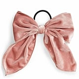 Cara Floppy Velvet Bow Hair Tie