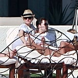 In January 2010, Diane Kruger and Joshua Jackson traveled to Cabo.