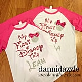 Customized First Disney Trip Shirts
