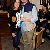 Unexpected costars Anders Holm and Cobie Smulders hung out at The Variety Studio's Dark Horse Wine workshop.