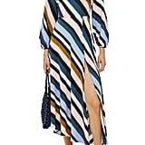 Topshop Open-Back Midi Dress