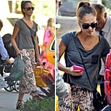 Love Jessica Alba's printed pants? Make them yours!