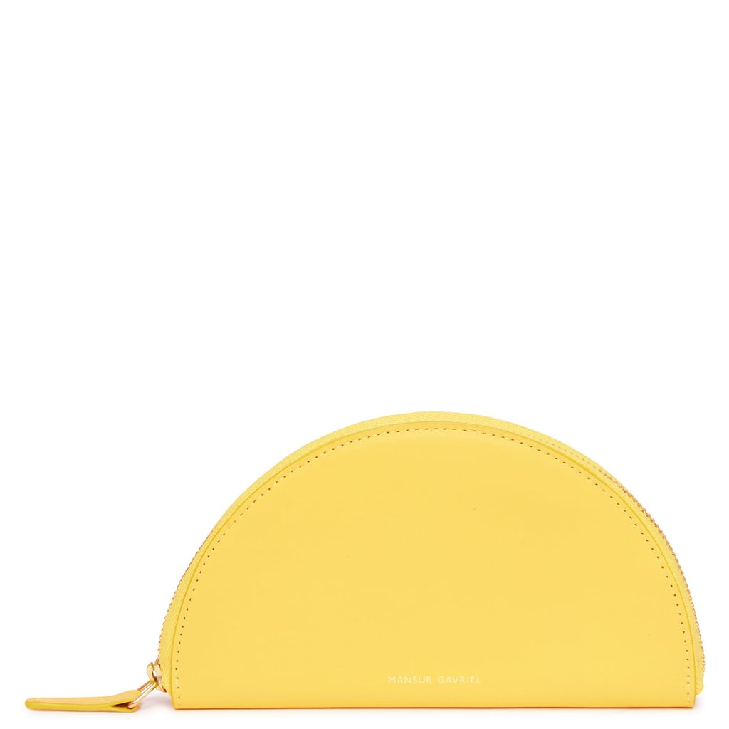 Mansur Gavriel Calf Mini Moon Wallet