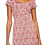 Topshop Ditsy Floral Minidress