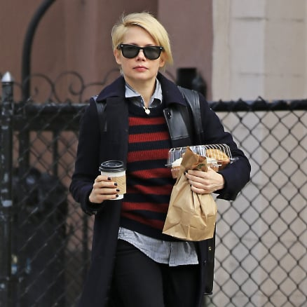 Michelle Williams Grocery Shopping in Brooklyn | Pictures