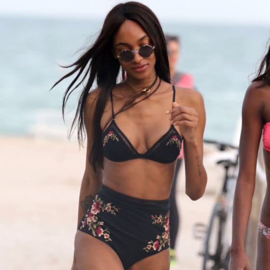 Jourdan Dunn Zimmermann Bikini in Miami December 2016