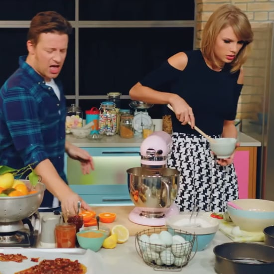 """Jamie Oliver and Taylor Swift's """"Bake It Off"""" 