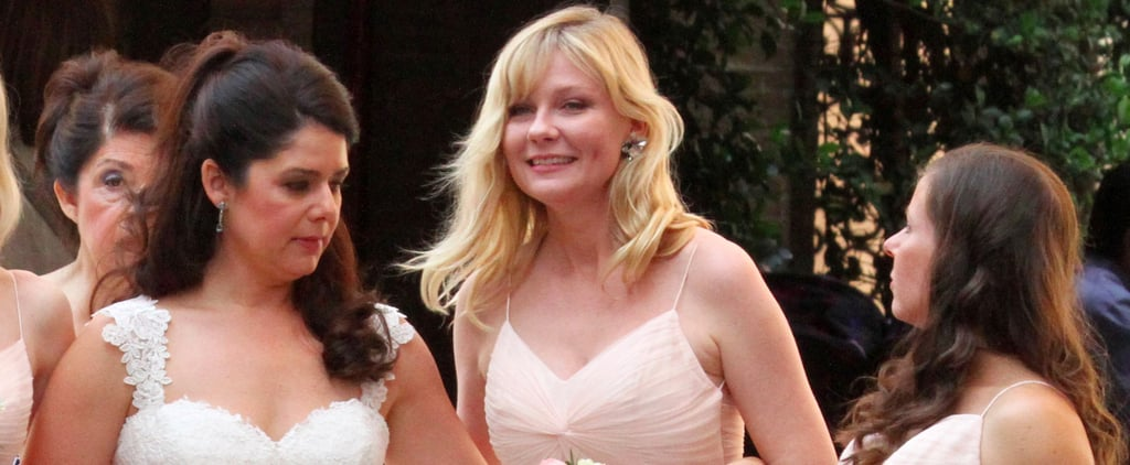 Kirsten Dunst Stuns as a Bridesmaid in Friend's Wedding Before Her Own Big Day