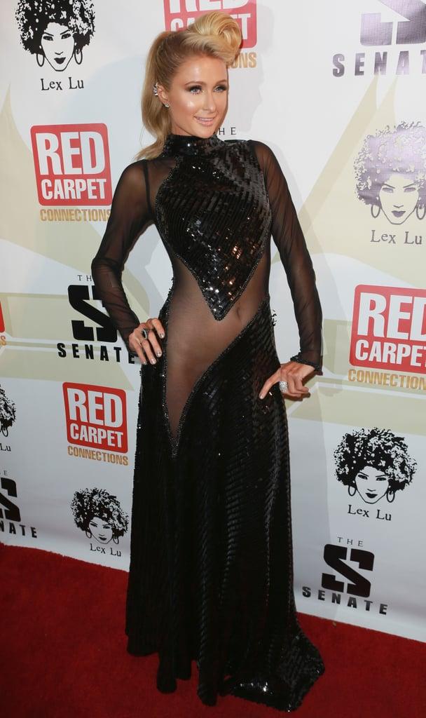Paris Hilton at a Pre-Grammys Party