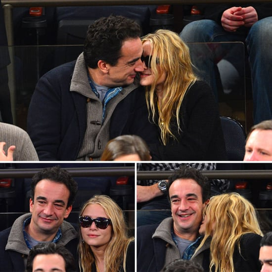 Mary-Kate and Olivier Pack In More Courtside PDA