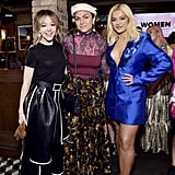 Lindsey Stirling, Jahan Yousaf, and Bebe Rexha at the 2020 Women in Harmony Brunch in LA