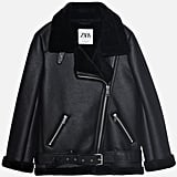 Zara Double-Faced Biker Jacket