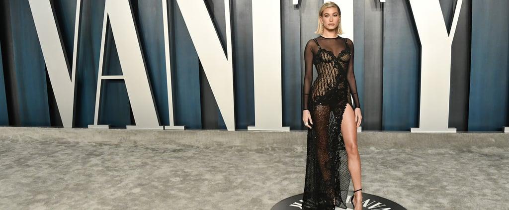 Hailey Bieber's Dress at Vanity Fair Oscars Party 2020