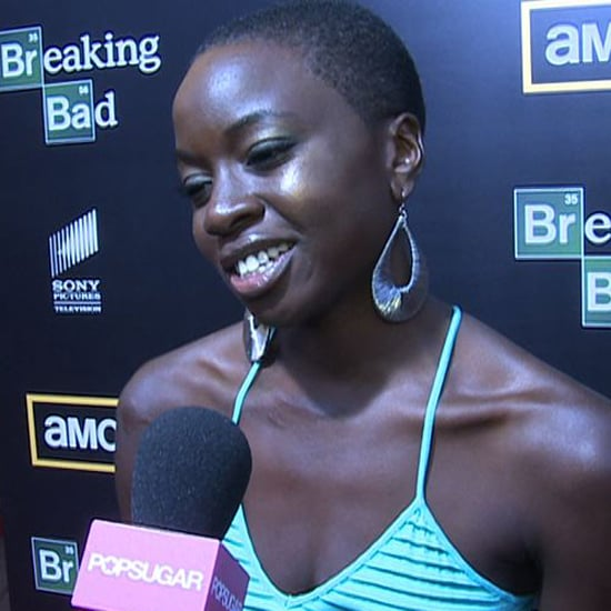 The Walking Dead Michonne Comic-Con Interview (Video)