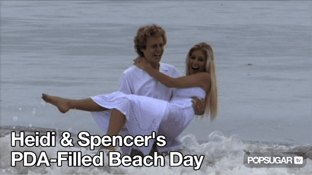 Video of Heidi Montag and Spencer Pratt at the Beach 2010-09-22 10:47:18