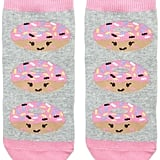 Forever 21 Donut Face Socks ($1.90)