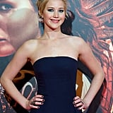 Jennifer Lawrence's Stylized Pixie