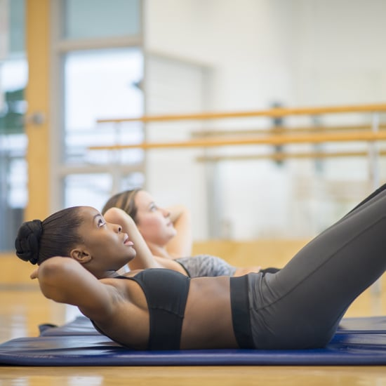 How to Do Pilates Double Toe Taps For Core Strength