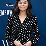 Selena Gomez Polka-Dot Dress