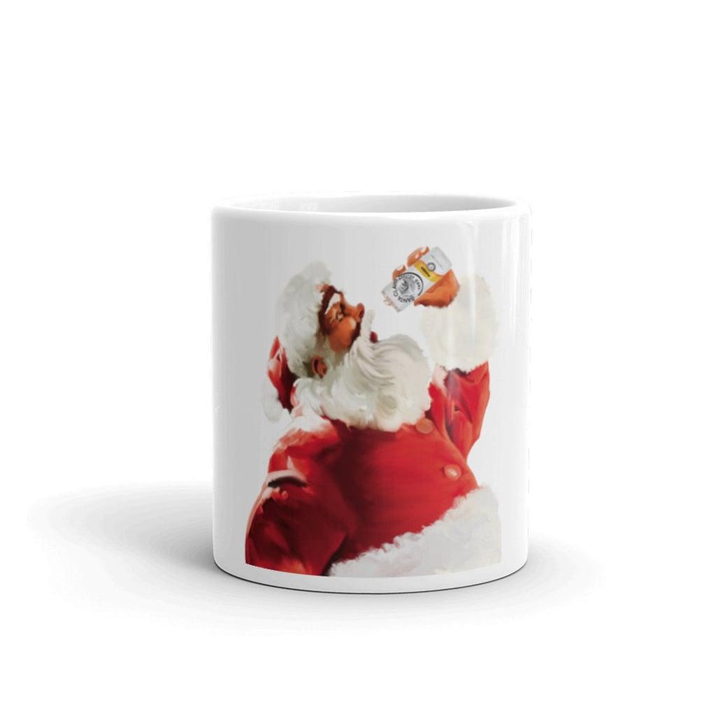 Santa Claws Mango Mug
