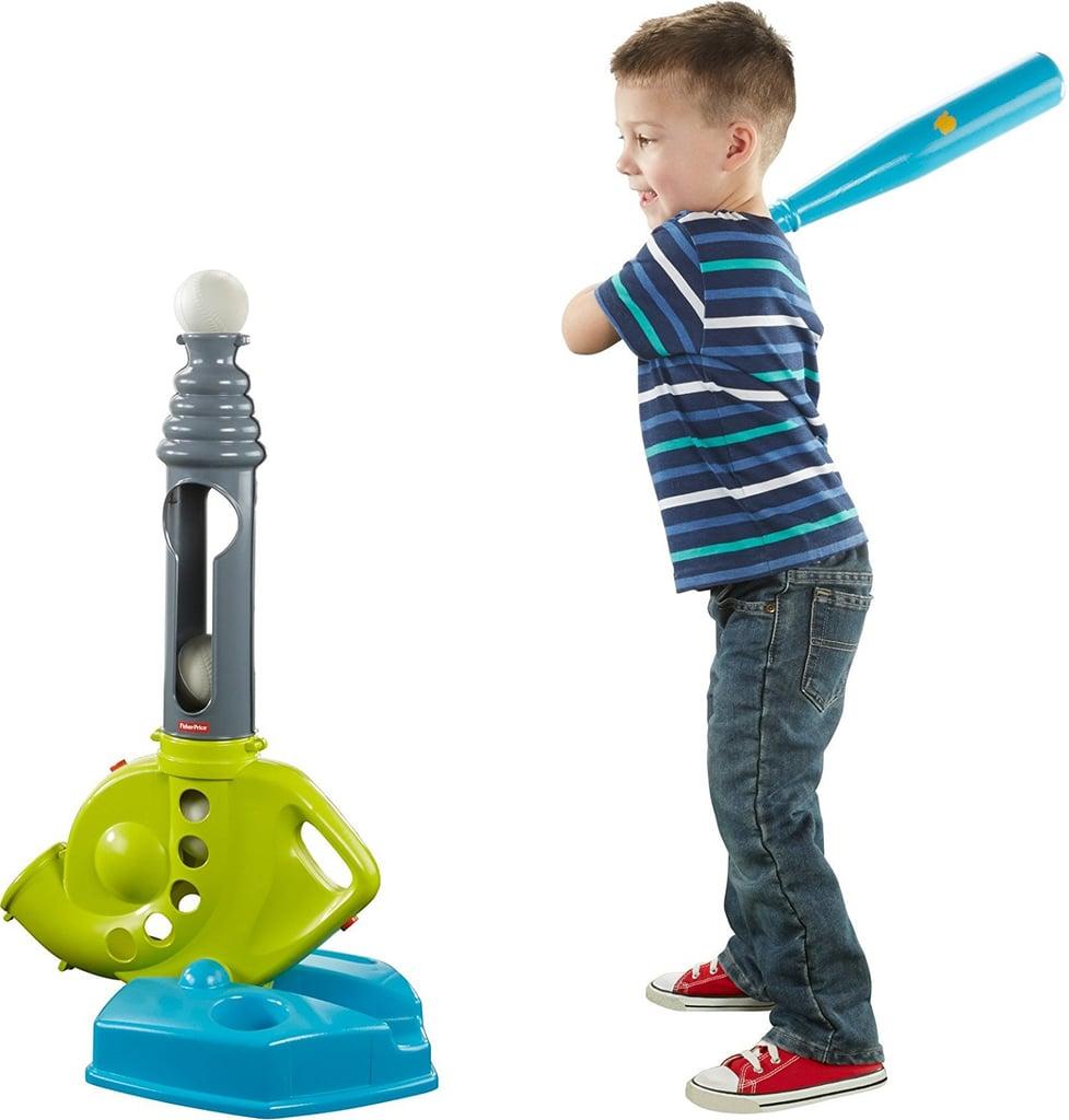 Fisher-Price Grow-to-Pro Triple Hit Baseball