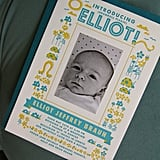 Letterpress Printed Photo Birth Announcement