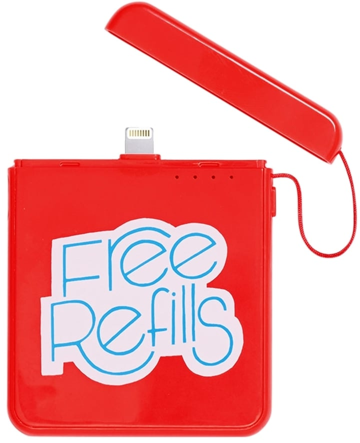 Free Refills Charger