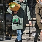 Cameron Diaz Has a Bright NYC Day Following a London Trip
