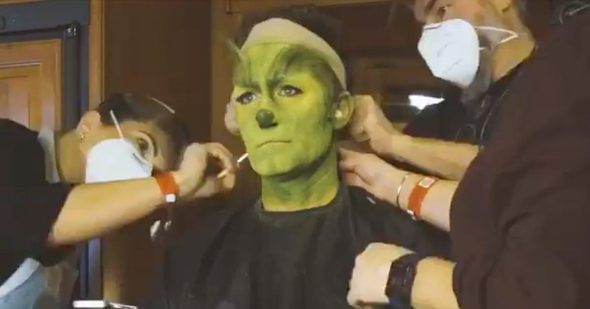 Goodbye, Matthew Morrison, Hello, Grinch! Watch the Actor's Fascinating Transformation