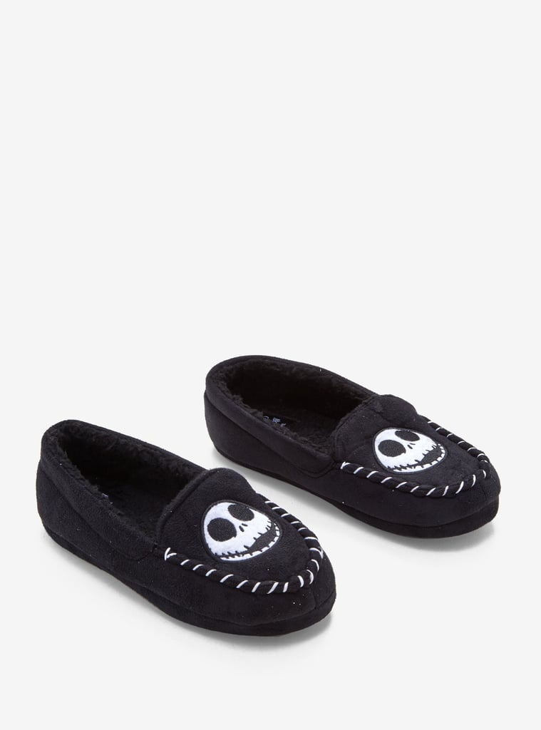 The Nightmare Before Christmas Jack Head Moccasin Slippers