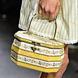 An Anna Sui Bag on the Runway at New York Fashion Week