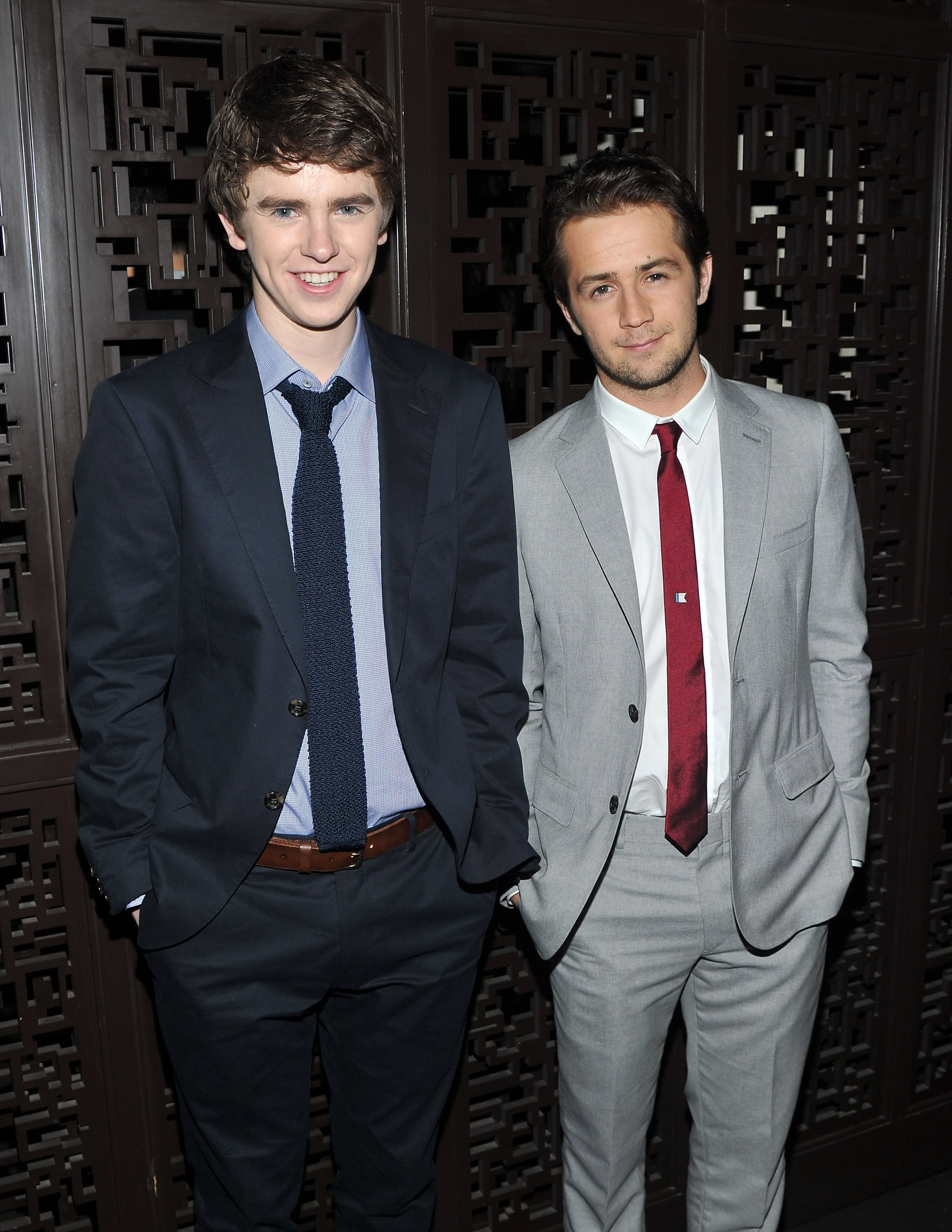 Freddie Highmore and Michael Angarano