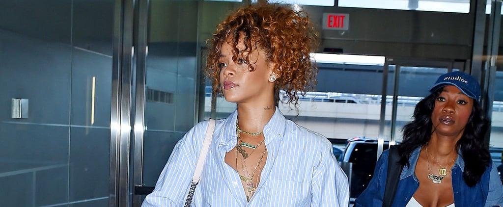 Rihanna Casual Style