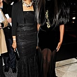 Valerie Campbell, Naomi Campbell in Alexander McQueen