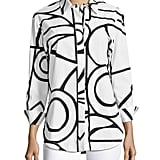 Finley Graphic-Print Blouse