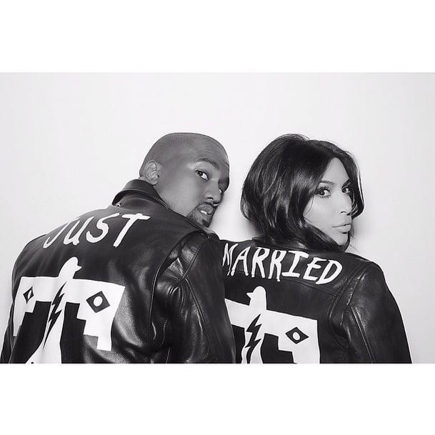 Kim Kardashian Wedding Gift: Kim Kardashian And Kanye West Wedding Pictures 2014
