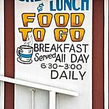 Eat breakfast all day.