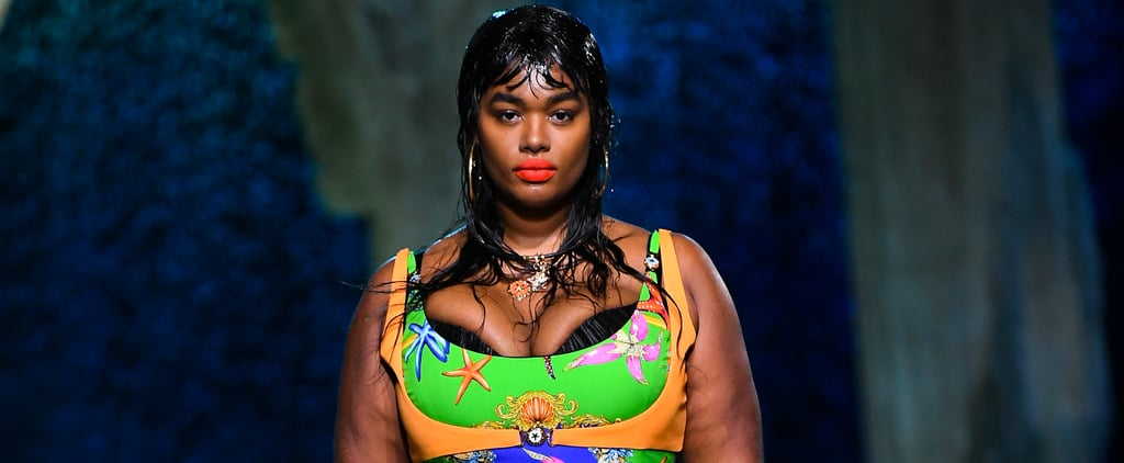 Versace Casts Curve Models on the Runway For the First Time