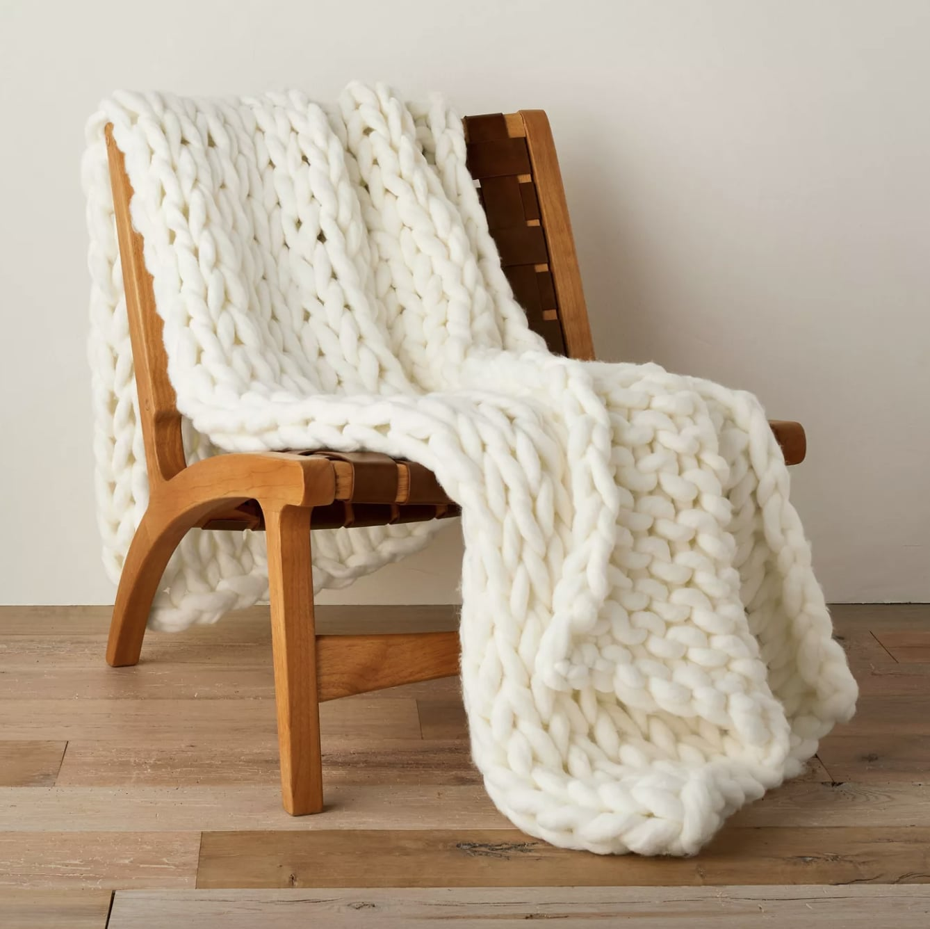 Casaluna Oversized Chunky Hand Knit Decorative Bed Throw The 22 Best Home Items You Can Shop On Sale This Week Only Popsugar Home Photo 18