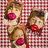 Chocolate Lips Photo Cards