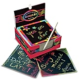 For 4-Year-Olds: Scratch Art Box of Mini Notes
