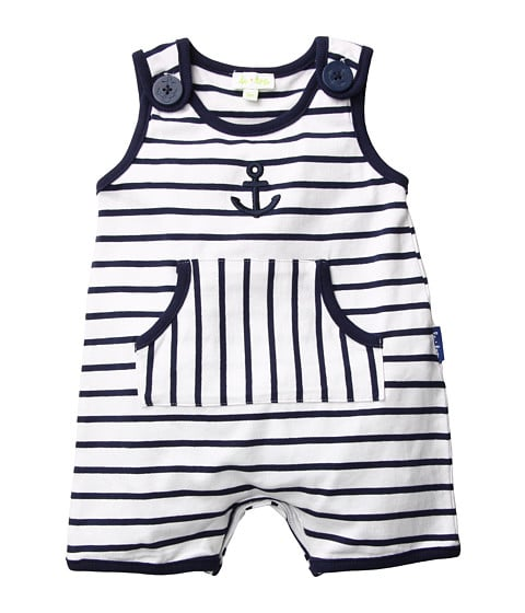 Nautical Striped Romper