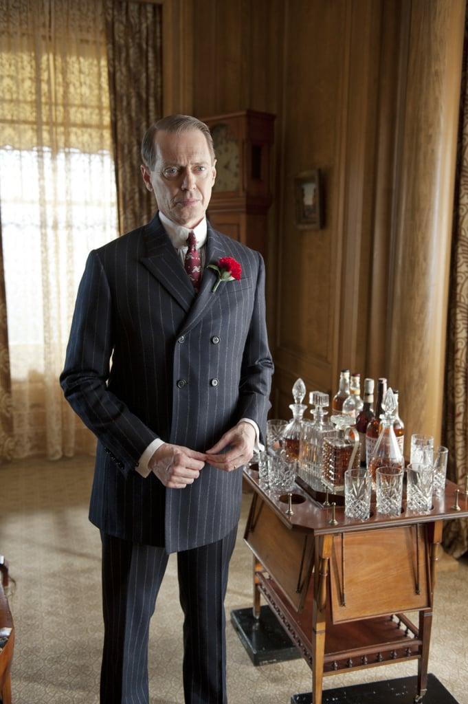 Steve Buscemi returns as crime boss Nucky Thompson in season three of Boardwalk Empire.