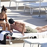 Stephen and Cassandra were in Monaco on Thursday, following their second marriage celebration at the end of May.